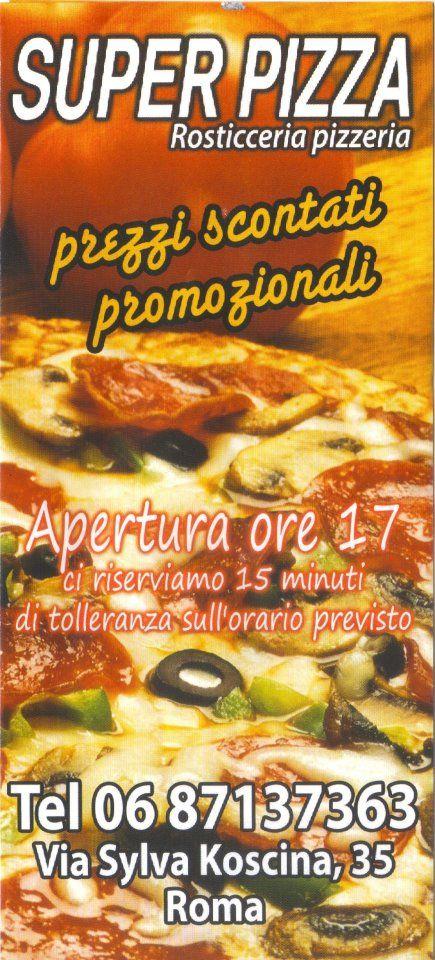 Da Asporto  Super Pizza ROMA