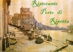 Logo Ristorante Porto di Ripetta ROMA