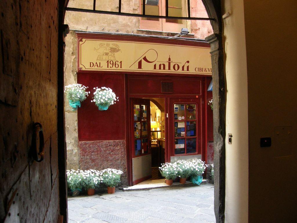 Ristorante pintori genova ristoranti cucina ligure genova for Cucina arredi genova