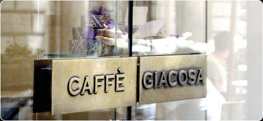 Ristorante  Caffè Giacosa FIRENZE