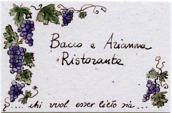 Ristorante  Bacco e Arianna TREZZANO SUL NAVIGLIO