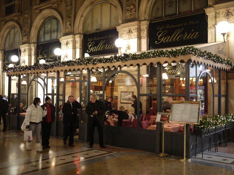 Ristorante  Galleria MILANO