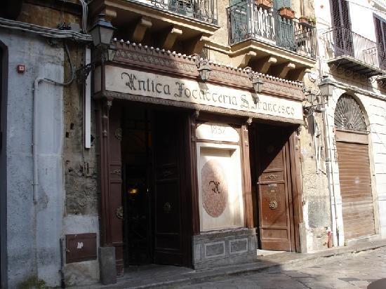 Dettagli Ristorante Etnico Antica Focacceria San Francesco