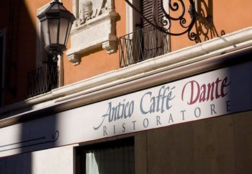 Dettagli Ristorante Antico Caffè Dante