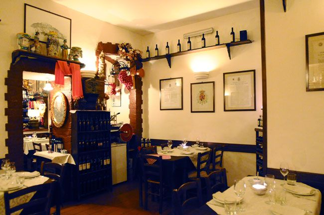 Dettagli Ristorante Taverna dell'Arte