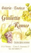 Osteria <strong> Giulietta e Romeo