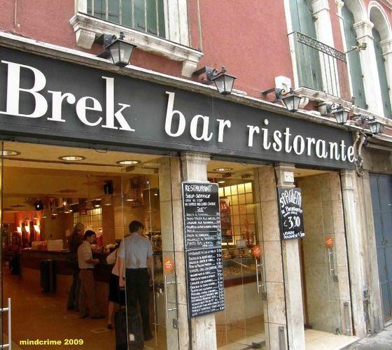 Dettagli Ristorante Brek