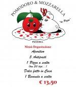 Logo Pizzeria Pomodoro e Mozzarella ROMA